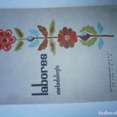 Libros de segunda mano: LIBROS ARTESANIA MANUALIDADES - LABORES METODOLOGIA SECCION FEMENINA 1965. Lote 113187163