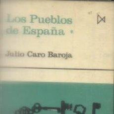Libros de segunda mano: LOS PUEBLOS DE ESPAÑA. 2 TOMOS. CARO BAROJA, JULIO. A-ANT-189, 2. Lote 113191627