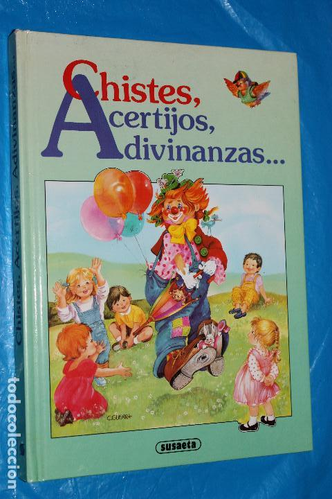 CHISTES, ACERTIJOS, ADIVINANZAS......, SUSAETA 1989, ILUSTRACIONES JUAN LOPEZ RAMON (Libros de Segunda Mano - Literatura Infantil y Juvenil - Otros)