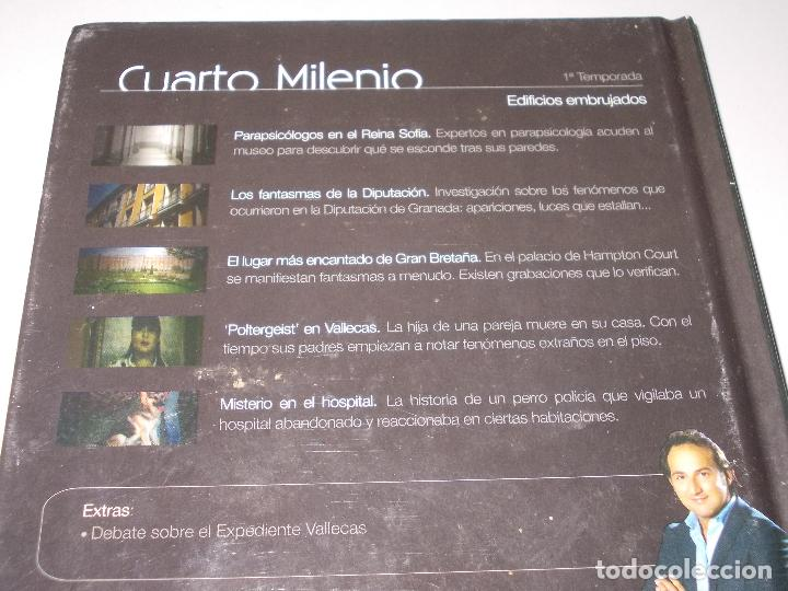 Dos libros+dvd. cuarto milenio, iker jiménez. 1 - Verkauft ...