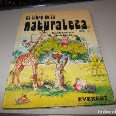 Libros de segunda mano: EL LIBRO DE LA NATURALEZA, ILUSTRADO POR HUTCHINGS. EVEREST 1.981. Lote 113280035