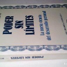 Libros de segunda mano: PODER SIN LIMITES-LA NUEVA CIENCIA DEL DESARROLLO PERSONAL-ANTHONY ROBBINS-GRIJALBO 1987. Lote 113287323