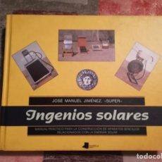 Livros em segunda mão: INGENIOS SOLARES - JOSÉ MANUEL JIMÉNEZ, 'SÚPER'. Lote 124589448