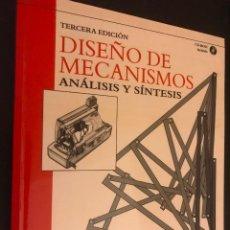 Libros de segunda mano: DISENO DE MECANISMOS. TERCERA EDICION. ARTHUR G. ERDMAN. GEORGE N. SANDOR. INCLUIDO CD. Lote 113302255