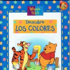 Libros de segunda mano: WINNIE THE POOH. DESCUBRE LOS COLORES. Lote 113356799