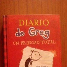Libros de segunda mano: DIARIO DE GREG. UN PRINGAO TOTAL.. Lote 113392115