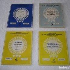 Libros de segunda mano: TECNOLOGIA DE LAS FABRICACIONES MECANICAS, 4 VOLUMENES - A. CHEVALIER DELAGRAVE - (AÑOS 50). Lote 113392751