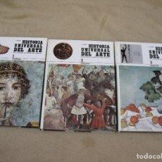 Libros de segunda mano: HISTORIA UNIVERSAL DEL ARTE-3 TOMOS- NOGUER :PINTURA / ESCULTURA / ARQUITECTURA / ARTES DECORATIVAS.. Lote 113425083