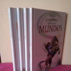 Libros de segunda mano: COLECCION SERES FANTASTICOS 4 TOMOS - ILUSTRACIONES ABRIL BARRADO - EDICIONES LIBSA 2007. Lote 113447219