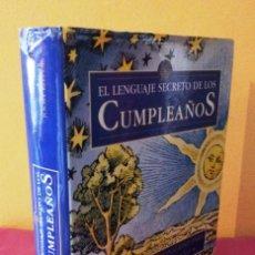 Libros de segunda mano: GARY GOLDSCHNEIDER Y JOOST ELFFERS - EL LENGUAJE SECRETO DE LOS CUMPLEAÑOS - EDICIONES DESTINO 1999. Lote 113448095