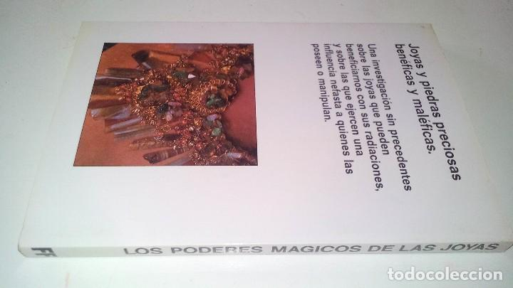 Libros de segunda mano: LOS PODERES MAGICOS DE LAS JOYAS-SIMONE DE TERVAGNE. MARTINEZ ROCA.-FONTANA FANTASTICA 1983 - Foto 3 - 113557851