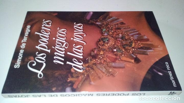 Libros de segunda mano: LOS PODERES MAGICOS DE LAS JOYAS-SIMONE DE TERVAGNE. MARTINEZ ROCA.-FONTANA FANTASTICA 1983 - Foto 4 - 113557851