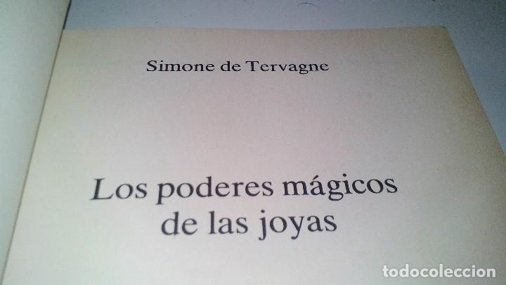 Libros de segunda mano: LOS PODERES MAGICOS DE LAS JOYAS-SIMONE DE TERVAGNE. MARTINEZ ROCA.-FONTANA FANTASTICA 1983 - Foto 7 - 113557851