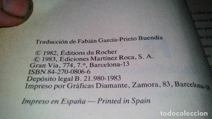 Libros de segunda mano: LOS PODERES MAGICOS DE LAS JOYAS-SIMONE DE TERVAGNE. MARTINEZ ROCA.-FONTANA FANTASTICA 1983 - Foto 9 - 113557851