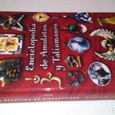 Libros de segunda mano: ENCICLOPEDIA DE AMULETOS Y TALISMANES-MARKUS SCHIRNER-EDICIONES OBELISCO. Lote 113572647
