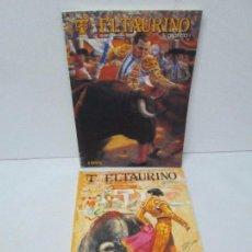 Libros de segunda mano: EL TAURINO GRAFICO. ANUAL INTERNACIONAL TAURINO. Nº 19 Y 20. 1994/1995. VER FOTOS. Lote 113572663