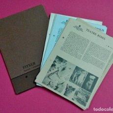 Libros de segunda mano: LIBRO FICHERO - FITXER . MUSEUS I MONUMENTS DE TARRAGONA . TGN - CON 15 FICHAS - AÑOS 80/90. Lote 113573783