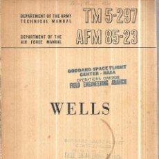 Libros de segunda mano: DEPARTAMENTS OF THE ARMY AND THE AIR FORCE. WELLS. 1957. LIBRO EN INGLES.. Lote 113576759