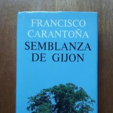 Libros de segunda mano: SEMBLANZA DE GIJON, FRANCISCO CARANTOÑA, CAJA DE ASTURIAS, 1990. Lote 113617779