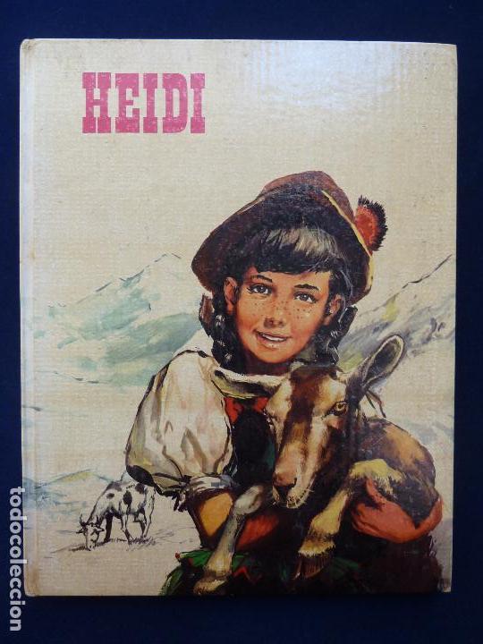 HEIDI. J. SPYRI. FHER 1970 (Libros de Segunda Mano - Literatura Infantil y Juvenil - Otros)