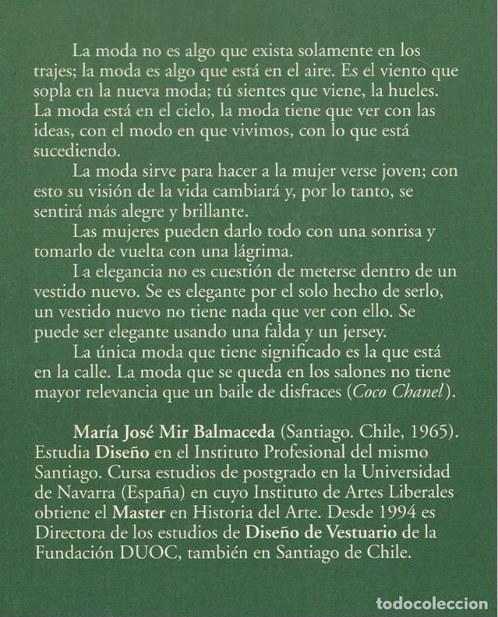 Libros de segunda mano: LA MODA FEMENINA EN EL PARÍS DE ENTREGUERRAS, María José Mir Balmaceda - Foto 2 - 113636115