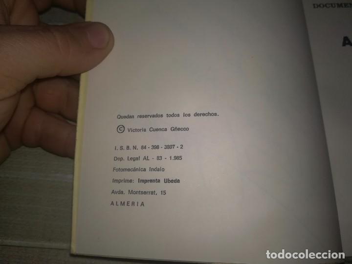 Libros de segunda mano: Adra la vieja. siglo XVI Documentos históricos andaluces. Ayto de Adra, 1985. 96 pág - Foto 7 - 113659879