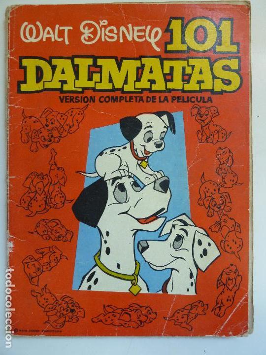 101 DALMATAS. VERSIÓN COMPLETA DE LA PELÍCULA. AÑO 1962 (Libros de Segunda Mano - Literatura Infantil y Juvenil - Otros)
