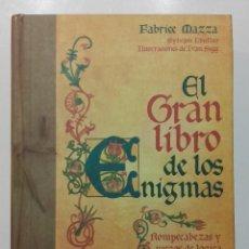 Libros de segunda mano: EL GRAN LIBRO DE LOS ENIGMAS. ROMPECABEZAS Y JUEGOS DE LOGICA - FABRIZE MAZZA - RBA 2008. Lote 113693471