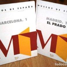 Libros de segunda mano: MUSEOS DE ESPAÑA 2T: BARCELONA Y MADRID (EL PRADO) DE F&G EDITORES EN MADRID 1993. Lote 113706891