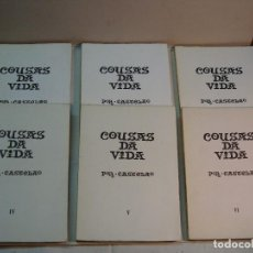 Libros de segunda mano: CASTELAO. COUSAS DA VIDA (6 TOMOS) (1968-1971). Lote 113813515