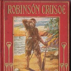 Libros de segunda mano: ROBINSON CRUSOE (ARALUCE, 1956). Lote 113819331