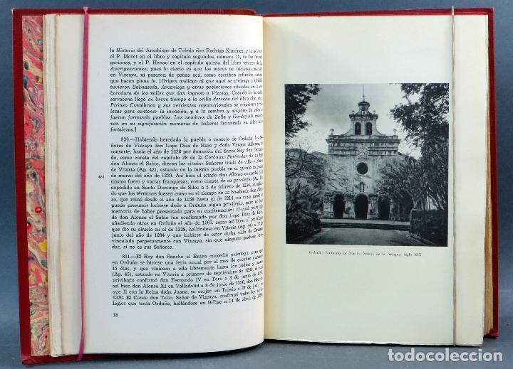 Libros de segunda mano: Historia General de Vizcaya Epitome Encartaciones Juan Ramón Iturriza y Zábala Fuentes 2 tomos 1967 - Foto 7 - 113821103