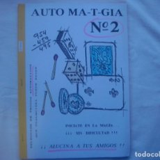 Libros de segunda mano: LIBRERIA GHOTICA. AUTO MTA-T-GIA. Nº2. TRUCOS AUTOMATICOS. 1980. FOLIO. MUY ILUSTRADO.. Lote 113848243