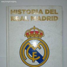Libros de segunda mano: ALBÚM DE CROMOS HISTORIA DEL REAL MADRID CONTADA POR ABC 2011 . Lote 113949039