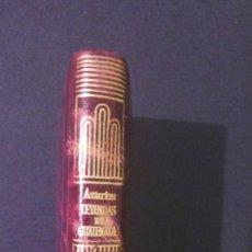Libros de segunda mano: CRISOLIN EDICIÓN DE LUJO 027, LEYENDAS DE GUATEMALA, AGUILAR. Lote 113952987