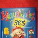 Libros de segunda mano: MANUALIDADES PARA 365 DÍAS EDICIONES SERVILIBRO. Lote 113953859