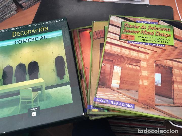 DECORACION COMERCIAL. ENCICLOPEDIA ATRIUM. COMPLETA EN 4 TOMOS (LB33) (Libros de Segunda Mano - Bellas artes, ocio y coleccionismo - Otros)
