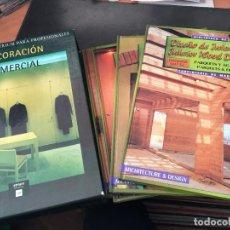 Libros de segunda mano: DECORACION COMERCIAL. ENCICLOPEDIA ATRIUM. COMPLETA EN 4 TOMOS (LB33). Lote 114084323