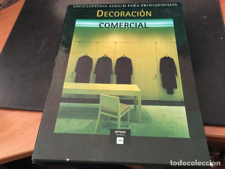 Libros de segunda mano: DECORACION COMERCIAL. ENCICLOPEDIA ATRIUM. COMPLETA EN 4 TOMOS (LB33) - Foto 2 - 114084323