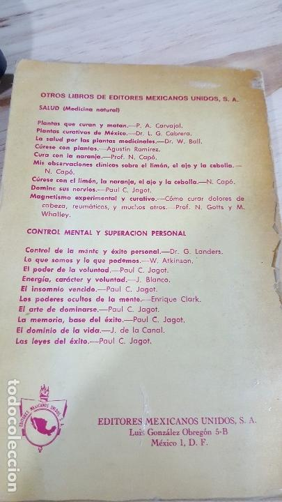 Libros de segunda mano: CIENCIA HINDU-YOGUI DE LA RESPIRACION YOGI RAMACHARAKA ILUSTRADA , EDITORES MEXICANOS 8. - Foto 5 - 33783459
