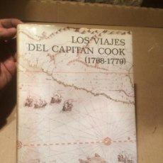 Libros de segunda mano: ANTIGUO LIBRO LOS VIAJES DEL CAPITÁN COOK POR A. GRENFELL OAÑO 1980. Lote 114121639