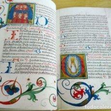 Libros de segunda mano: FACSÍMIL ÍNTEGRO DEL MISAL ILUMINADO (S. XV) DE LA BIBLIOTECA NACIONAL DE HUNGRÍA. Lote 249052520