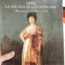 Libros de segunda mano: LIBRO DE GOYA EXPOSICION . Lote 114274363