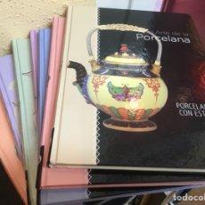 Libros de segunda mano: LA PORCELANA, SIETE LIBROS SOBRE LA PORCELANA. Lote 114311011