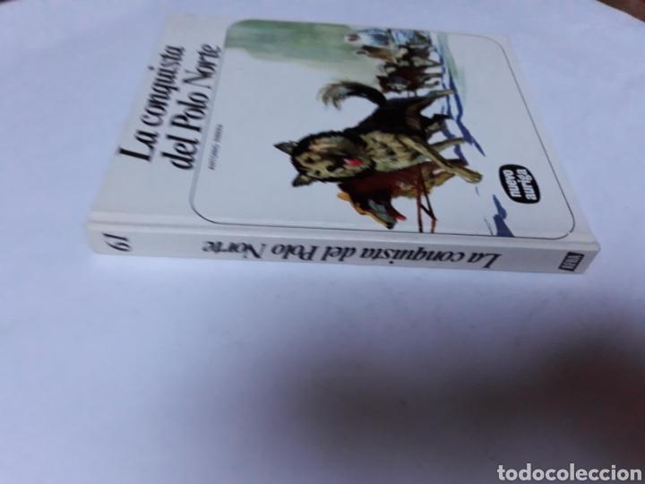 Libros de segunda mano: Libros juveniles cuentos - la conquista del Polo Norte Antonio Ribera nuevo auriga 1979 - Foto 2 - 114378895