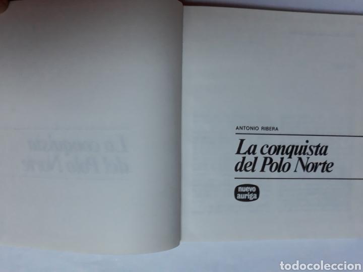 Libros de segunda mano: Libros juveniles cuentos - la conquista del Polo Norte Antonio Ribera nuevo auriga 1979 - Foto 6 - 114378895