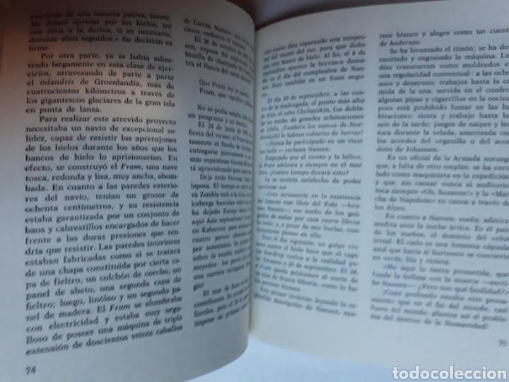 Libros de segunda mano: Libros juveniles cuentos - la conquista del Polo Norte Antonio Ribera nuevo auriga 1979 - Foto 7 - 114378895