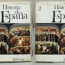 Gebrauchte Bücher - HISTORIA DE ESPAÑA. 2 TOMOS. - CUENCA, JOSE MANUEL. - A-HE-857. - 114388291