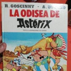 Libros de segunda mano: LIBRO TAPA DURA ASTERIX LA ODISEA DE ASTERIX . Lote 114451223