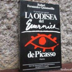 Libros de segunda mano: LA ODISEA DEL GUERNICA RAFAEL FERNANDEZ QUINTANILLA - PLANETA1981 238PAG, PLENO FOTOS B/N.. Lote 114481827